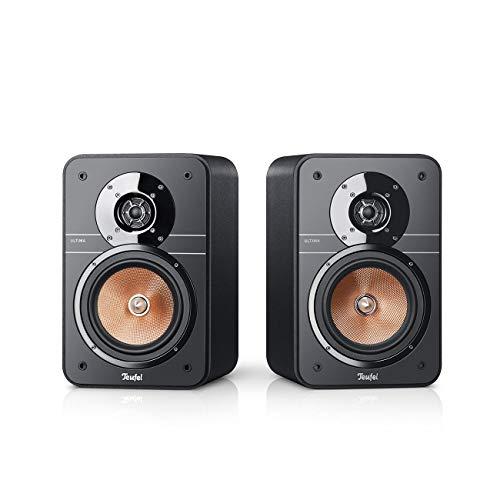 Teufel Ultima 20 Schwarz Stereo Lautsprecher Musik Sound Hochtöner Mitteltöner Bass Speaker High End HiFi Tieftöner Schalldruck Soundanlage
