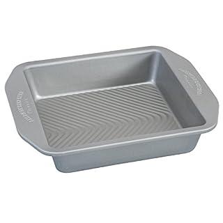 USA Pan 1120BW-2-ABC American Bakeware Classics 8 inch Square Baking Pan, Aluminized Steel (B075DN9X37) | Amazon price tracker / tracking, Amazon price history charts, Amazon price watches, Amazon price drop alerts