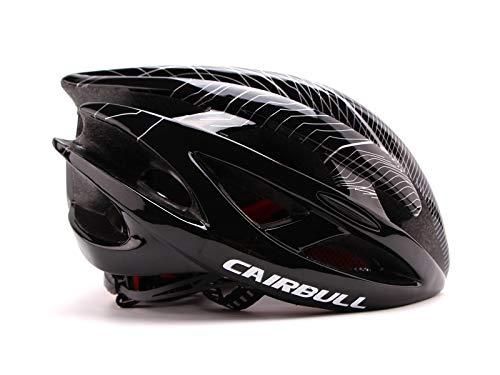 54-61 cm con 29 Rejillas de ventilaci/ón Casco de Ciclismo para Hombre y Mujer Ligero Casco de Bicicleta con l/ámpara LED Cairbull