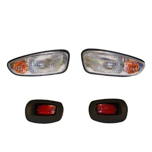 EZGO PF11527 Basis-Licht-Set für Gas- und Elektro-RXV-Golfwagen, transparent