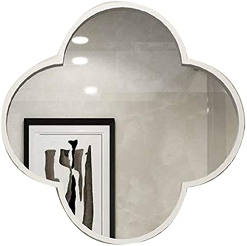 Badrumsspegel Vattentät Belyst LED Badrumsspegel, Speglar Vägg för vardagsrum Stor, väggmonterad plommon europeisk smidesjärn Makeup Runt badrumsskiva (Färg: Guld, Storlek: 60cm)