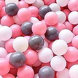LIUFS Kinder Ocean Ball Pool Haushalt Verdicktes Spielzeug Soft Ball Pit Umweltschutz und...