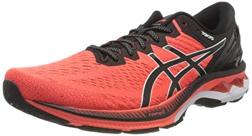 Asics Gel-Kayano 27 Tokyo, Road Running Shoe Hombre, Sunrise Red/Black, 39 EU