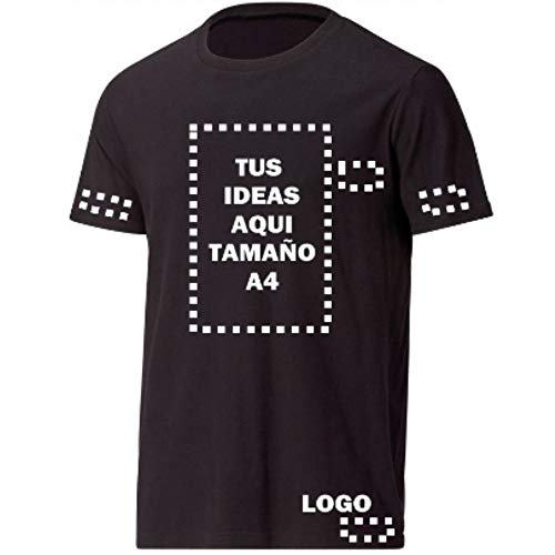 Perfectas para regalo. Puedes colocar la foto de un ser querido con un mensaje. Es muy usada para uniformes en restaurantes y empresas en general. Organiza tus eventos y puedes identificar a tus compañeros de trabajo facílmente. Estas camisetas están...