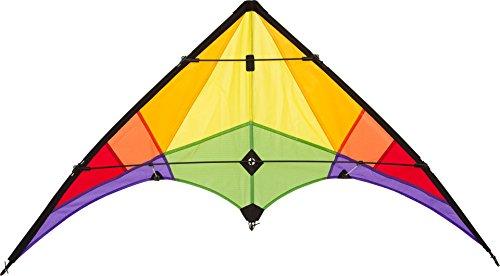 HQ Kites- Stunt Kite Rookie Rainbow R2F Cerf-Volant, 10216230, Multicolore, no Size