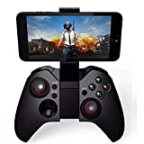 Gamepad Android, PowerLead Mando de Juego inalámbrico portátil, Compatible con teléfono, PC, PS3,...