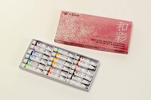 クサカベ専門家用透明水彩絵具『和彩(NW-18)』