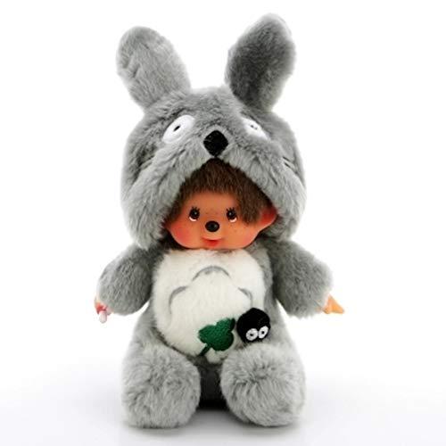 Totoro Monchichi Knuffel 20cm Grijs