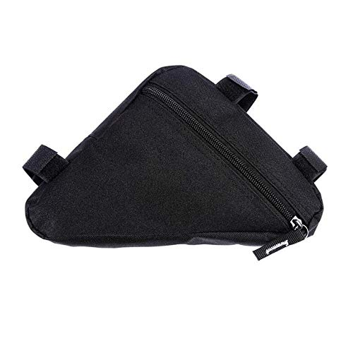 Review BYBYC Bike Storage Frame Bag, Bicycle Front Tube Triangle Water Resistant Cycling Pack Strap ...