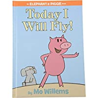 Constructive Playthings LB-953 Today I Will Fly an Elephant and Piggie Book by Mo Willems Grade: Kindergarten to 3 6.75 Height 0.5 Wide 9.25 Length [並行輸入品]
