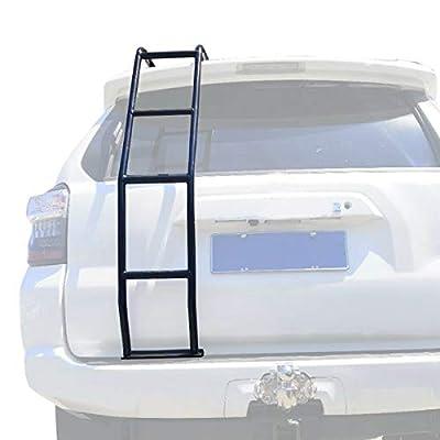 ANTS PART Rear Ladder for 2010-2021 Toyota 4Runner Gen 5 Aluminum