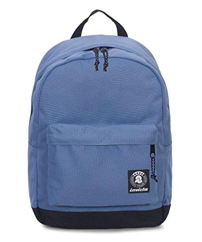 ZAINO INVICTA - CARLSON - Azzurro - tasca porta pc padded - americano 27 LT