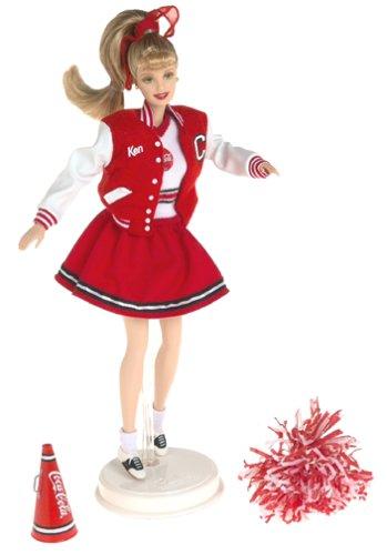 Barbie Collectables, Coca Cola Series: Cheerleader Barbie