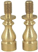 "ANTIQUE BRASS LAMP SHADE RISER 1/""   TV-560AB"