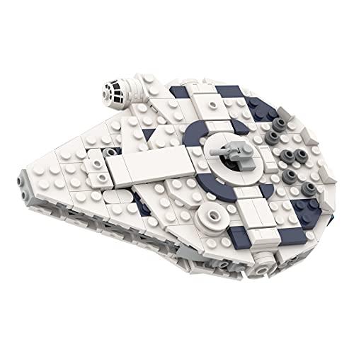 LICI Tecnica MOC-63888, 384 pezzi Mos Eisley Cantina nave da guerra spaziale Sci-Fi, kit di costruzione compatibile con Lego Star Wars