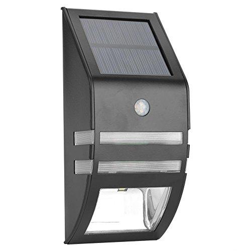 Zerodis Solar Lamp Solar Light Solar Light Tuinverlichting Solar Wandlamp Outdoor Tuin hof Wand Waterdicht Draadloos 2 LED