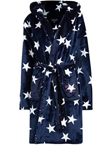 Tokyo Laundry Women's Starry Night Hooded Fleece Dressing Gown - Navy - S