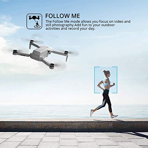 4DRC F8 4K GPS Drone con Telecamera UHD per Esperti, Quadricottero Pieghevole con Motore Brushless, Ritorno Automatico, Modalità Seguimi, Modalità Punti di Interesse,Includes Carrying Case