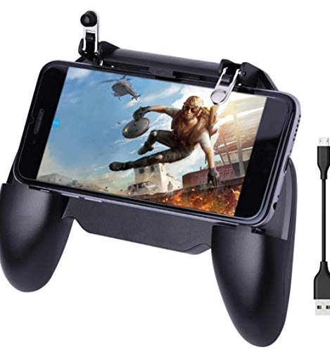 YouFirst Pubg Mobile Controller [4000mAh | Newest Version] COD Mobile Controller | Pubg Controller | Mobile Trigger | Handy Controller Pubg | Pubg Trigger |