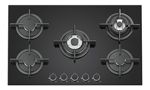 Carysil Passilo 5 Burner Built in Glass Hob 90 cm