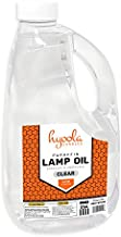 Liquid Paraffin Lamp Oil - 2 Liter (67.6 oz) - Clear Smokeless, Odorless, Ultra Clean Burning Fuel for Indoor and Outdoor Use - Highest Purity Available