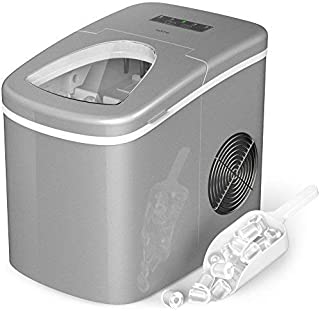 hOmeLabs Portable Ice Maker Machine for Countertop – Makes 26 lbs of Ice per 24..