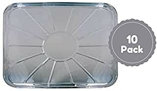 Disposable Aluminum Foil Oven Liners Set Of 10 Count 18.5 X 15.5 Inches