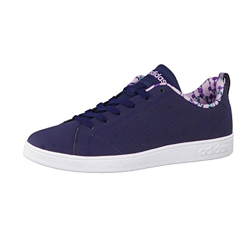 Adidas Vs Advantage Clean K, Zapatillas Unisex Adulto, Azul (Maruni/Maruni/orqcla), 38 EU