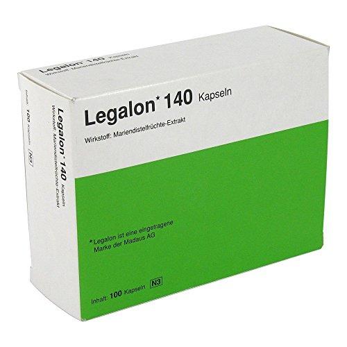 LEGALON 140 Hartkapseln 100 St