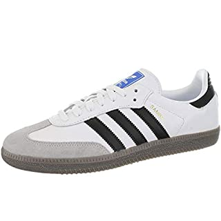 Adidas Samba OG, Zapatillas de Gimnasia para Hombre, Blanco (Footwear White/Core Black/Clear Granite 0), 40 2/3 EU (B07D7354RF) | Amazon price tracker / tracking, Amazon price history charts, Amazon price watches, Amazon price drop alerts