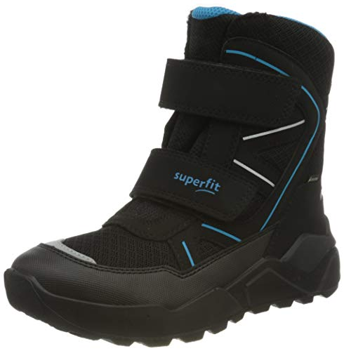 Superfit Rocket, Botte de Neige, Schwarz/Blau 0010, 31 EU