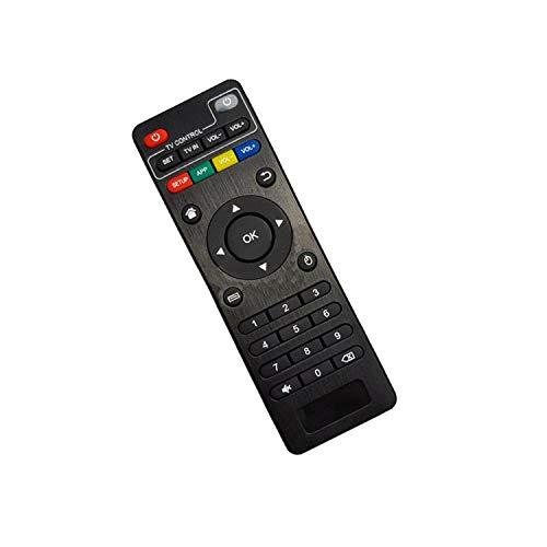Tekeir Replacement Compatible Remote Control for X96 MINI ANDROID TV BOX, MXQ X96 MIN, MXQ TX3 MINI, MXQ X96, H96 MAX, SCISHION V88, OPENBOX VX2, OPENBOX VX