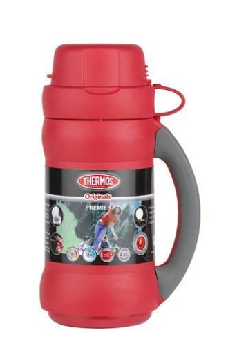 THERMOS Premier 34 Bouteille Isotherme Rouge 0,5 l