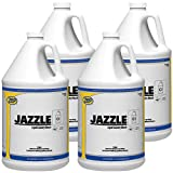 Zep Jazzle Liquid Chlorine Bleach 540824 1 Gallon (Case of 4) for use in Both Commercial and Residential Laundry Equipment