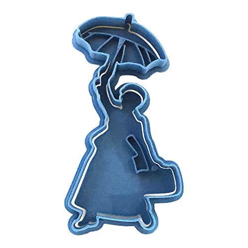 Cuticuter Stampo per biscotti Mary Poppins, PLA