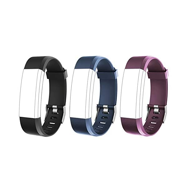 Lintelek Replacement Bands for Fitness Tracker ID115Plus HR, ID115Pro, Interchangeable...