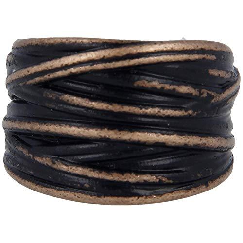 Pietro Ferrante Anello Uomo Gioielli Black Vintage Misura 30 Trendy cod. ABV2967/XXL