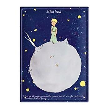 Lenvol Editions Clouet 29204 Petite Plaque m/étal 15x21 cm Le Petit Prince