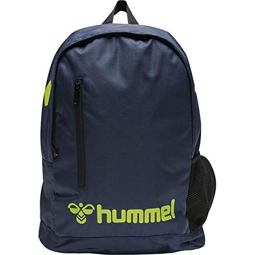 Hummel Rucksack Core Back Pack 206996 Dark Denim/Lime Punch One Size