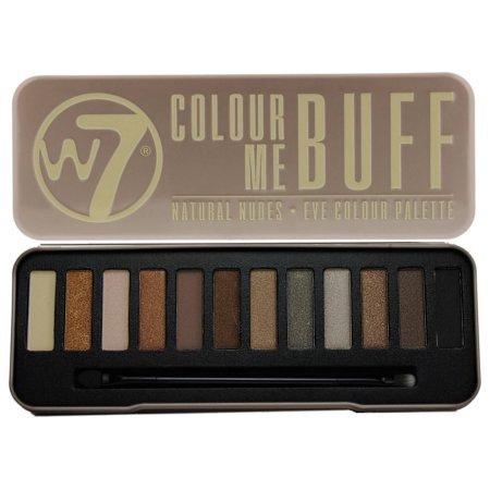 W7 Colour Me Buff Eyeshadow Palette by W7 (English Manual)