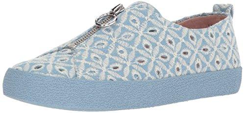 Avec Les Filles Women's Sasha Sneaker, Light Blue, 8.5 Medium US