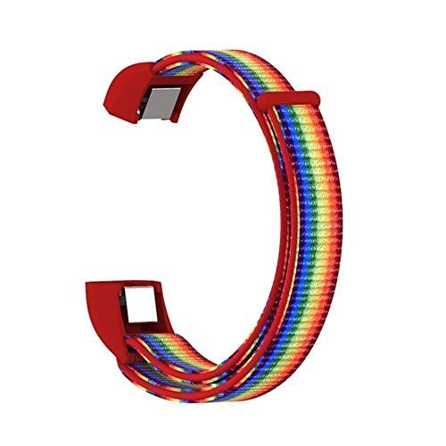 Pulsera de reemplazo Deportivo Banda de Reloj de Reloj Nylon Bucle Strap Pulseras para Accesorios de Reloj Inteligente #531 (Color : 11)