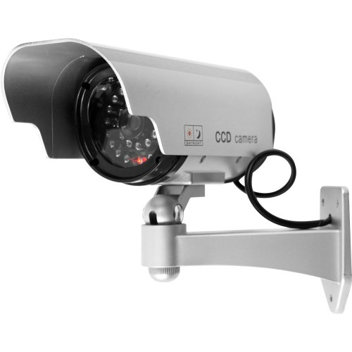 Trademark Home 72-HH659 Security Camera Decoy with Blinking LED and Adjustable Mount