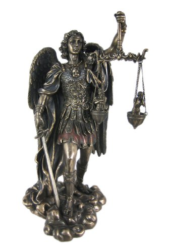 Veronese St. Michael Weighing Souls Statue Figure Saint Angel