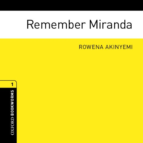 Remember Miranda audiobook cover art