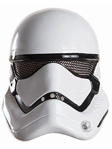 Rubie's Offizielle Stormtrooper-Maske, Maßstab 1:2, Einheitsgröße,Design sortiert , Schwarz und Weiß