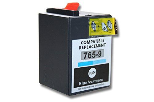 vhbw Druckerpatronen Tintenpatronen blau mit Chip kompatibel mit Pitney Bowes Frankiermaschinen DM300 DM300C DM400 DM400C DM450 DM450C DM475 DM475C Ersatz für 765-9blau