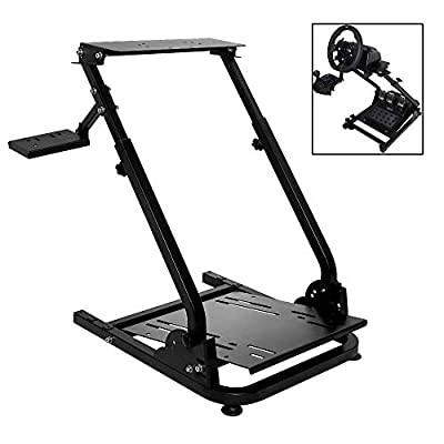 Marada G920 Racing Steering Wheel Stand for G27,G25, G29 and G920 Gaming Racing Simulator Wheel Stand Racing Wheel Pro Stand Wheel and Pedals Not Included
