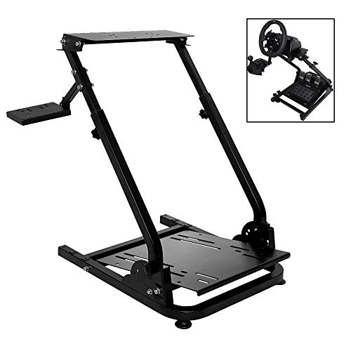 Marada G920 Racing Steering Wheel Stand for G27,G25, G29 and G920 Gaming Racing Simulator Wheel Stand Racing Wheel Pro Stand Wheel and Pedals Not Included Chairs Dining Features Game Kitchen Video
