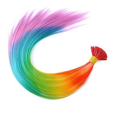 Beautywin 20'' Rainbow Colorful